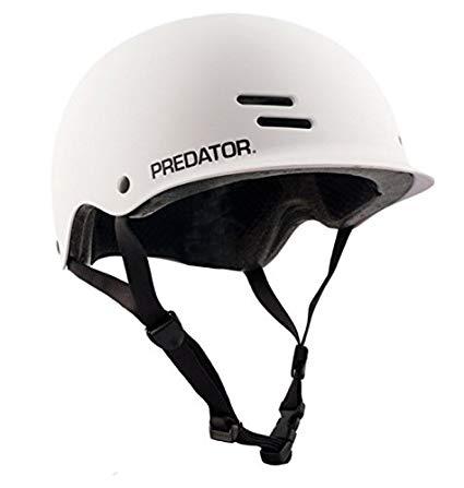 Predator FR7 White Certified Longboard Skateboard Helmet Size Extra Large