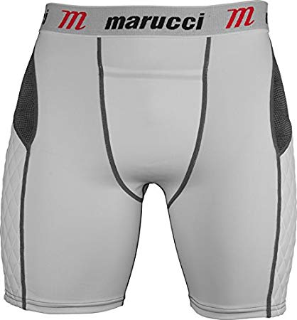Marucci Youth Elite Padded Slider Shorts with Cup